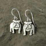 English Bulldog earrings