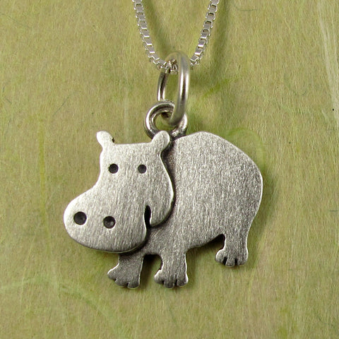 Hippo pendant / necklace