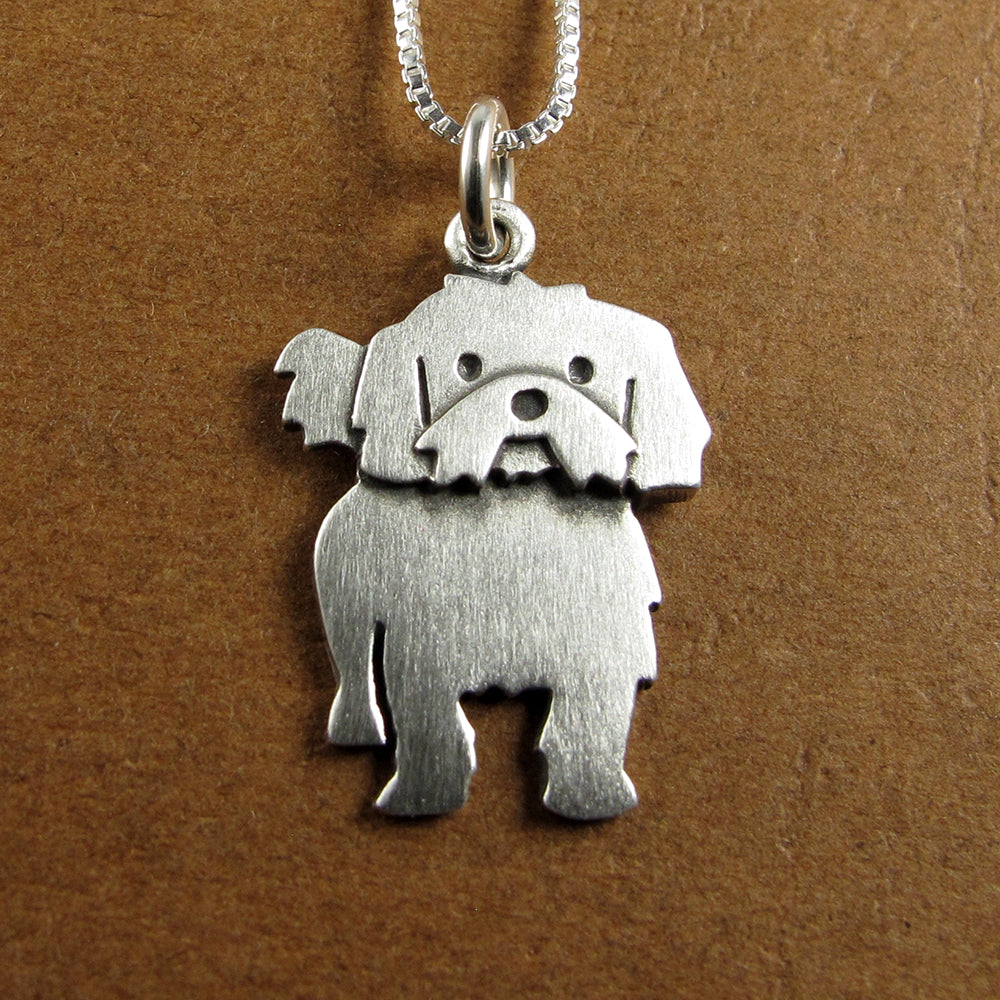 Shih Tzu pendant / necklace (larger size)