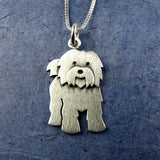Tibetan Terrier necklace (larger size)