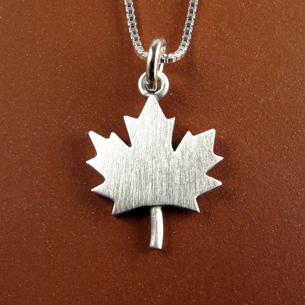 Maple leaf pendant / necklace