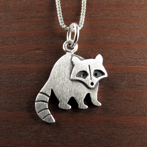 Raccoon pendant / necklace