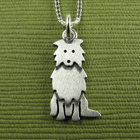 Collie necklace