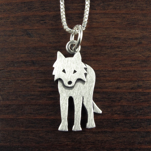 Wolf pendant / necklace