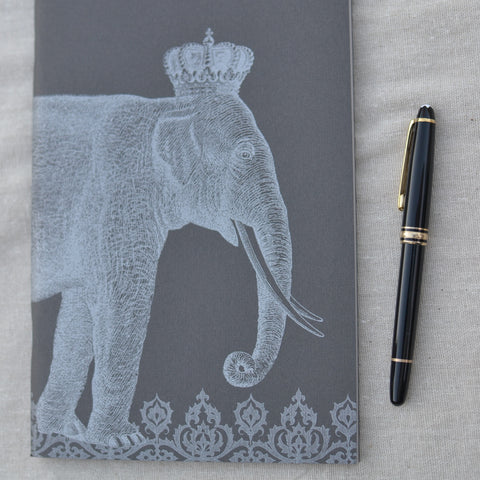 Royal Elephant Notebook