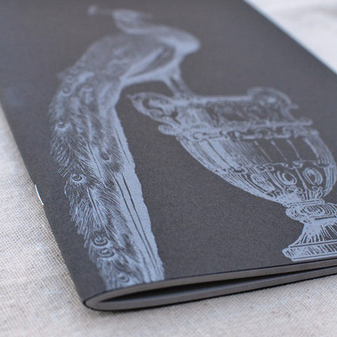 Royal Peacock Notebook