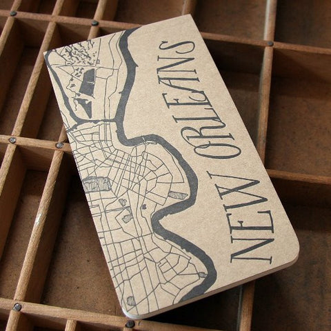 New Orleans Letterpress Notepad