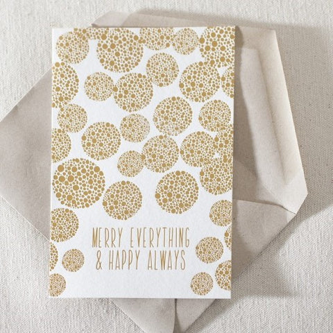 Gold Foil Bough (Set 8)
