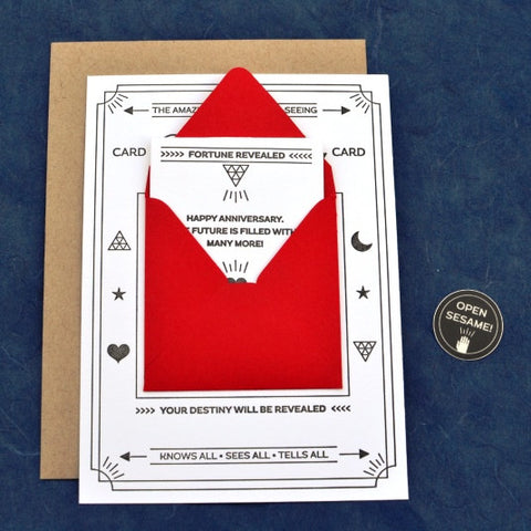 Fortune Telling Card: Anniversary