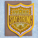 Stay Strong Badge