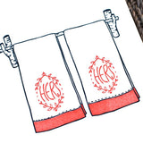 Congrats Couples Towel: Hers & Hers