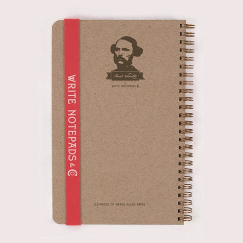 Paul South Left-Handed Large Notebook: Lined