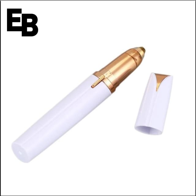 Eyebrow Trimmer - White