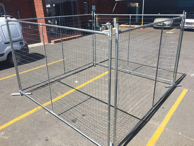 4m x 1.8m Fence Panel - Fence Tech