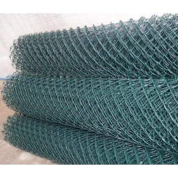 1,8m PVC coated green diamond mesh