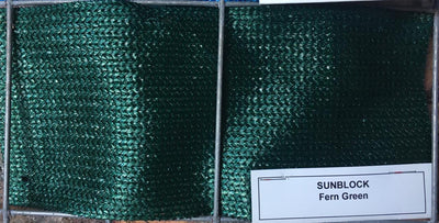 Shade Cloth Fern Green 3m(W) - Fence Tech