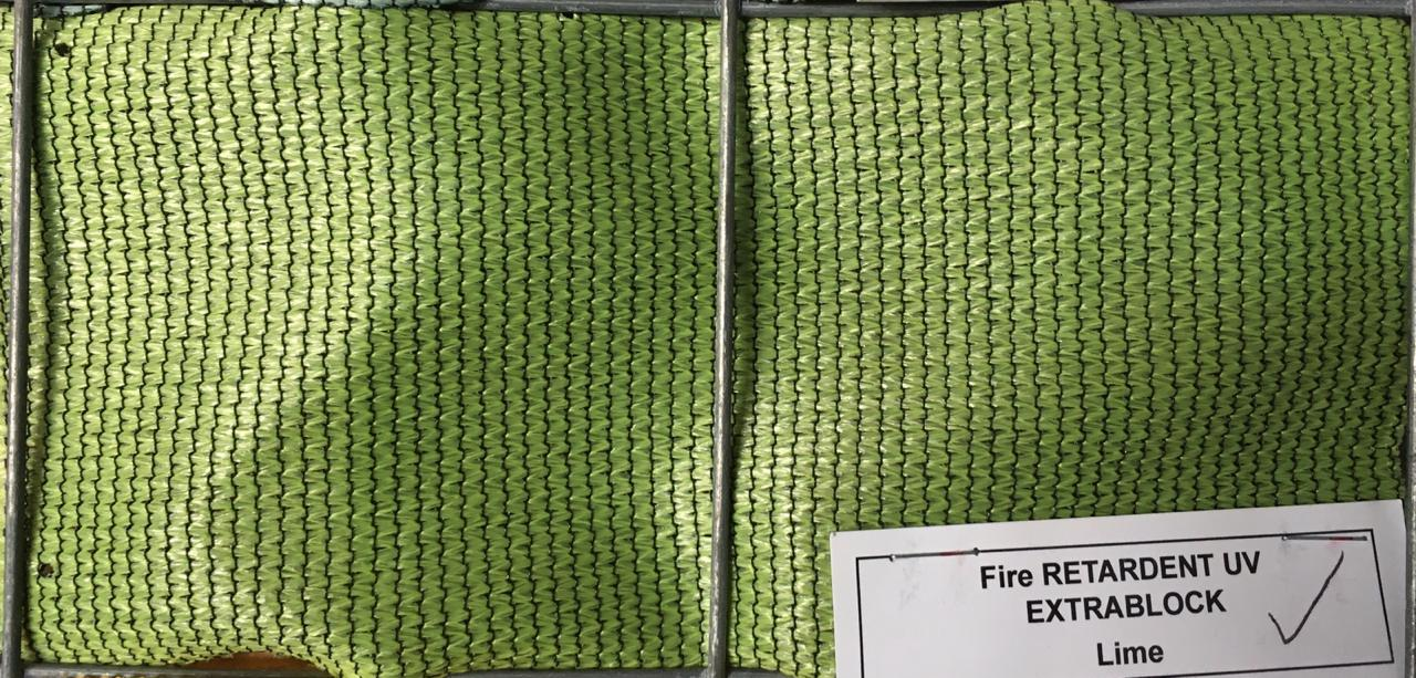 Shade Cloth Lime Green 3m(W) - Fence Tech