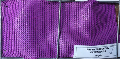 Shade Cloth Purple 3m(W) - Fence Tech