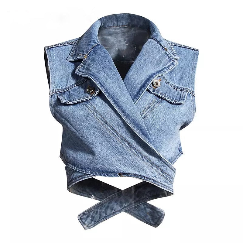 RILEY Denim Vest