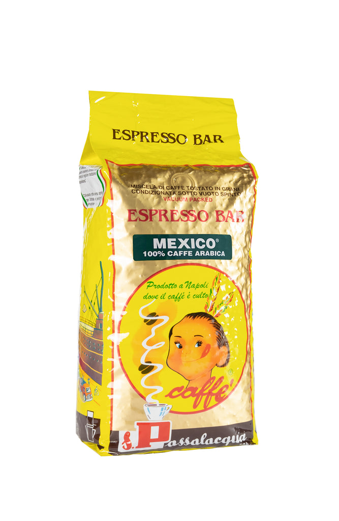 PASSALACQUA Mexico - 1 kg, whole bean