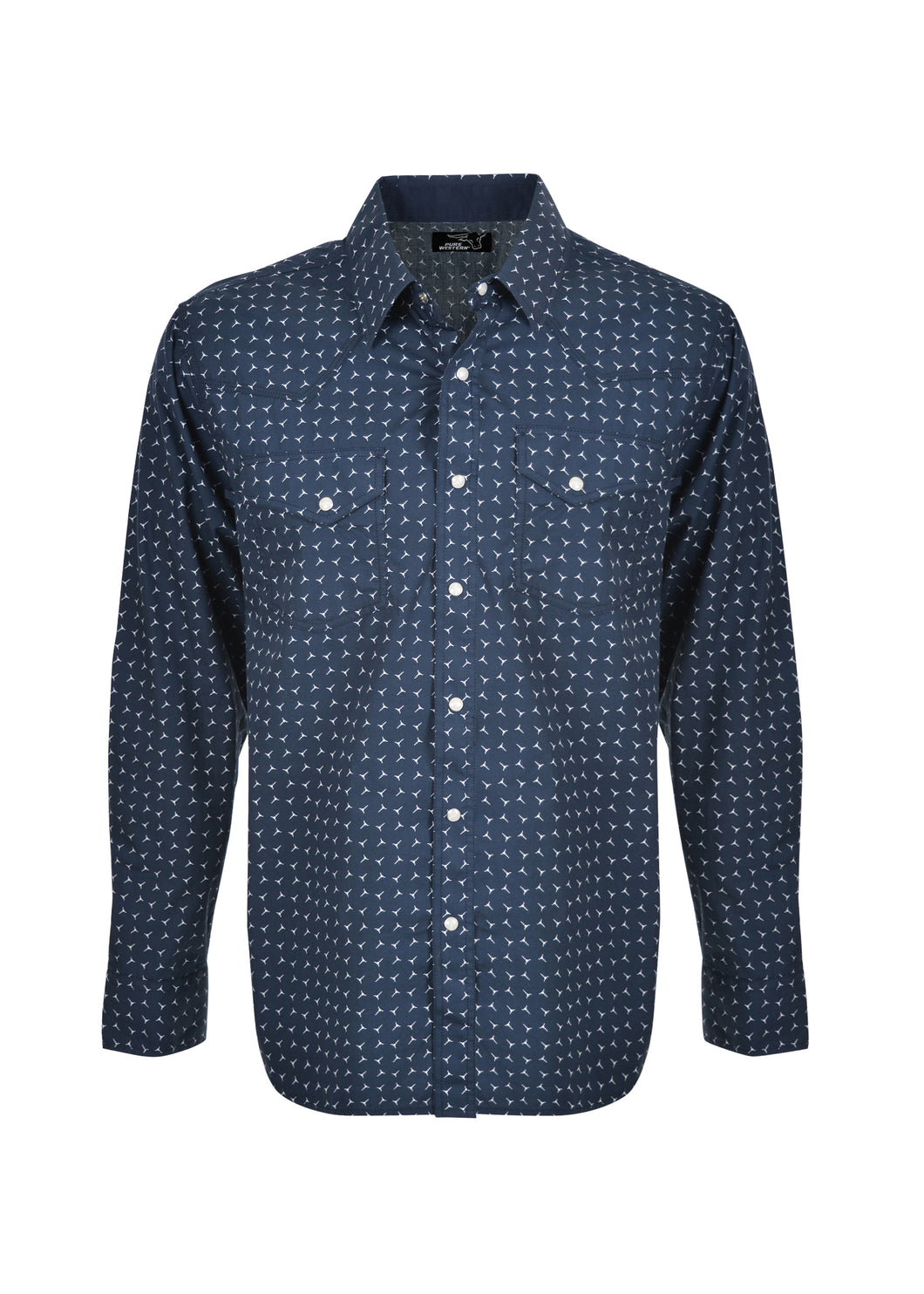 MENS ANTHONY PRINT L/S SHIRT
