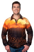 Load image into Gallery viewer, ARIAT MENS FISHING SHIRT WESTERN