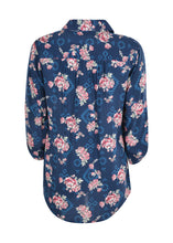 Load image into Gallery viewer, WMNS CRYSTAL PRINT 3/4 SLEEVE SHIRT
