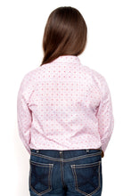 Load image into Gallery viewer, JC GLS HARPER HALF BUTTON PRINT WORKSHIRT