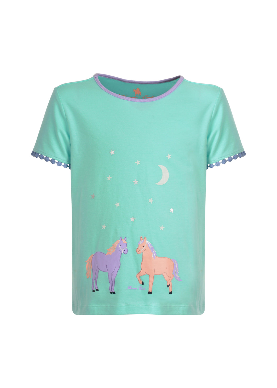 GIRLS GLOW IN THE DARK HORSE PJs