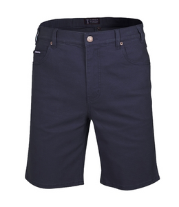 Mens Cotton Stretch Jean Short