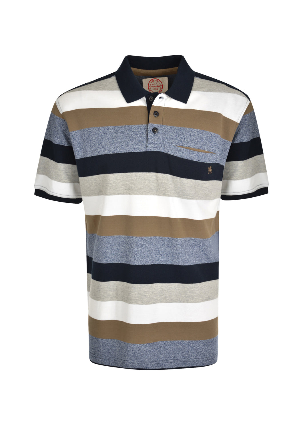MENS JACK 1PKT S/S POLO