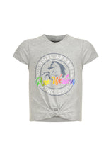Load image into Gallery viewer, GIRLS HANNAH TIE FRONT TEE