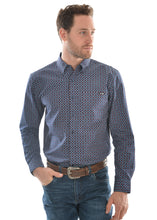 Load image into Gallery viewer, MENS STEVE PRINT BUTTON DOWN LS SHIRT