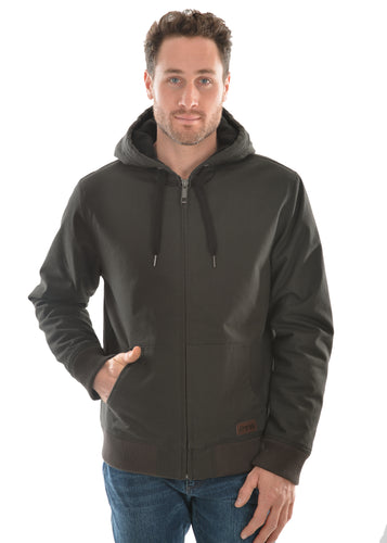MENS COLOMBIA HOODED BOMBER JACKET