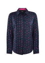 Load image into Gallery viewer, WMNS CLARA PRINT L/S SHIRT