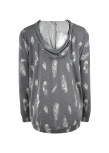 WMNS TINA HOODED TEE