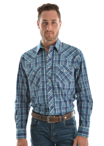 MENS BRADY CHECKL/S SHIRT