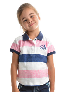 GIRLS ADLEY S/S POLO