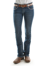 "Load image into Gallery viewer, WMNS WINONA BOOTCUT JEAN 34"" LEG"