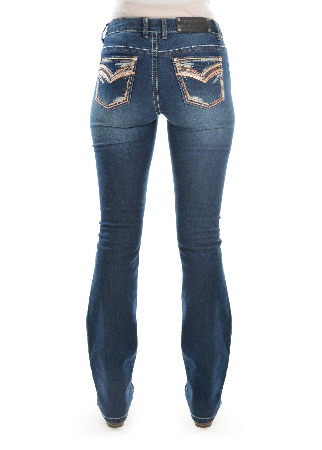 WMNS EMMA BOOT CUT JEAN 32