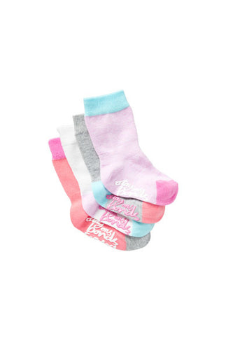 BABY BONDS STAYON PLAIN Socks 4PK