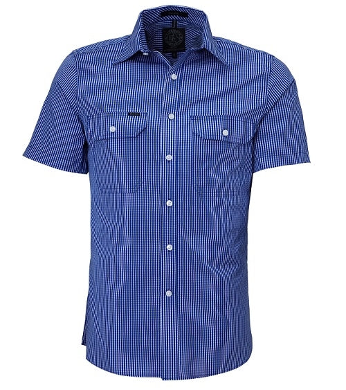 MENS SS SHIRT DOUBLE POCKETS