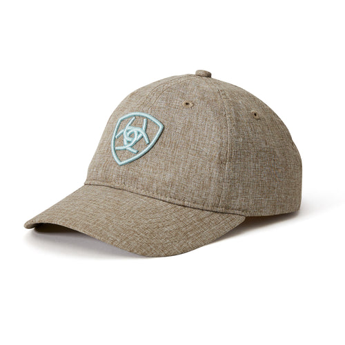 S19 ARIAT ARENA HEATHERED CAP CEDAR/SKY DRIFT
