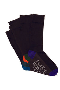 BONDS-BDS LOGO BBOO CR 5PK SOCKS