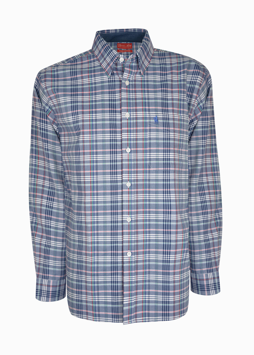 MENS BETTS 1-PKT L/S SHIRT