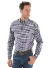 Load image into Gallery viewer, MENS MASON CHECK TAILORED L/S SHIRT