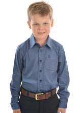 Load image into Gallery viewer, BOYS MCKINNON PRINT 1 PKT L/S SHIRT