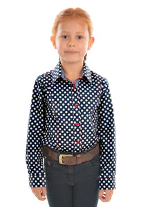 GIRLS SARAH L/S SHIRT
