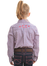 Load image into Gallery viewer, GIRLS TATIANA PRINT L/S SHIRT
