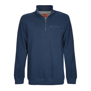 MENS MURRAY 1/4 ZIPNECK 1-PKT L/S TOP